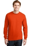 Dryblend 50 Cotton/50 Dryblend Poly Long Sleeve T-shirt Orange Thumbnail