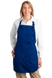 Full Length Apron With Pockets Royal Thumbnail