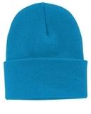 Knit Cap Neon Blue Thumbnail