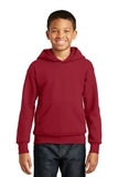 Comfortblend Youth Pullover Hooded Sweatshirt Deep Red Thumbnail