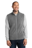 Microfleece Vest Pearl Grey Thumbnail