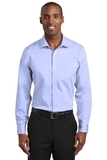 Red House Slim Fit Pinpoint Oxford Non-Iron Shirt Blue Thumbnail