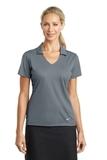 Women's Nike Golf Dri-FIT Vertical Mesh Polo Cool Grey Thumbnail