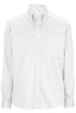 Redwood & Ross Men's No-iron Pinpoint Oxford Button Down Dress Shirt White Thumbnail