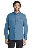 Eddie Bauer Long Sleeve Fishing Shirt Blue Gill Thumbnail
