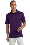 Legendary Sateen Moisture Wicking Polo Bright Purple Thumbnail