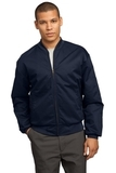 Team Style Jacket With Slash Pockets Navy Thumbnail
