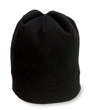 Stretch Fleece Beanie Black Thumbnail