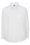 Men's Dress Button Down Oxford LS White Thumbnail