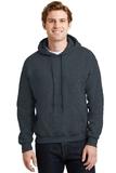 Heavyblend Hooded Sweatshirt Dark Heather Thumbnail