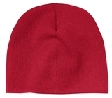 Beanie Cap Athletic Red Thumbnail