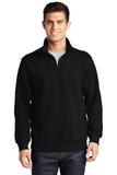 1/4-zip Sweatshirt Black Thumbnail