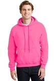 Heavyblend Hooded Sweatshirt Safety Pink Thumbnail