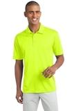 Legendary Sateen Moisture Wicking Polo Neon Yellow Thumbnail