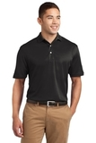 Tall Dri-mesh Polo Black Thumbnail