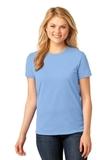 Women's 5.4-oz 100 Cotton T-shirt Light Blue Thumbnail