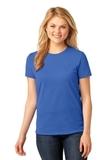 Women's 5.4-oz 100 Cotton T-shirt Royal Thumbnail