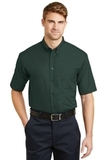 Short Sleeve Superpro Twill Shirt Dark Green Thumbnail