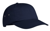 Fashion Twill Cap With Metal Eyelets Navy Thumbnail