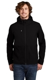 Castle Rock Hooded Soft Shell Jacket TNF Black Thumbnail