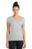 Women's Electric Heather Sporty Tee Silver Electric Thumbnail