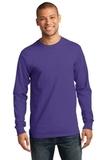 Essential Long Sleeve T-shirt Purple Thumbnail