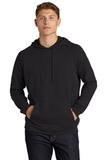 Lightweight French Terry Pullover Hoodie Black Thumbnail