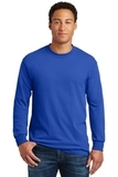 Heavy Cotton 100 Cotton Long Sleeve T-shirt Royal Thumbnail