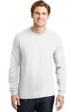 Dryblend 50 Cotton/50 Dryblend Poly Long Sleeve T-shirt White Thumbnail