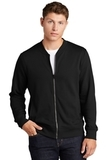 Lightweight French Terry Bomber Black Thumbnail