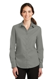 Women's SuperPro Twill Shirt Monument Grey Thumbnail