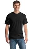 Heavy Cotton 100 Cotton T-shirt Black Thumbnail