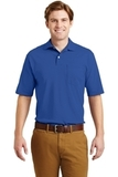 Spotshield Jersey Knit Polo With Pocket Royal Thumbnail