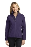 Women's Welded Soft Shell Jacket Posh Purple Thumbnail