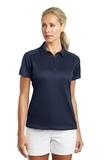 Women's Nike Golf Dri-FIT Pebble Texture Shirt Midnight Navy Thumbnail