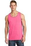 5.4 oz. 100% Cotton Tank Top Neon Pink Thumbnail