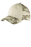Colorblock Digital Ripstop Camouflage Cap Sand Camo with Sand Thumbnail