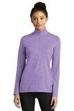 Ladies Exchange 1.5 Long Sleeve 1/2-Zip Hyacinth Heather Thumbnail