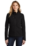 Ladies Castle Rock Soft Shell Jacket TNF Black Thumbnail