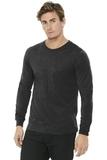BELLACANVAS Unisex Jersey Long Sleeve Tee Charcoal Black Triblend Thumbnail