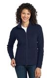 Women's Microfleece Jacket True Navy Thumbnail