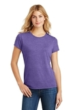 Women's Made Perfect Tri Crew Tee Purple Frost Thumbnail