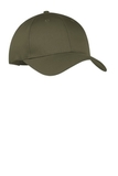 6-panel Twill Cap Olive Drab Green Thumbnail
