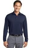 Nike Golf Shirt Long Sleeve Dri-FIT Stretch Tech Polo Midnight Navy Thumbnail
