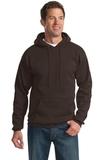 Pullover Hooded Sweatshirt Dark Chocolate Brown Thumbnail