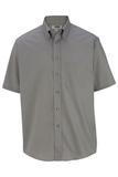 Men's Button Down Poplin Shirt SS Titanium Thumbnail
