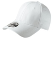 New Era Structured Fitted Cotton Cap White Thumbnail