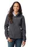 Women's Eddie Bauer Soft Shell Jacket Grey Steel Thumbnail