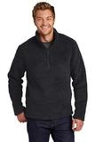 Cozy 1/4-Zip Fleece Charcoal Thumbnail