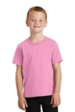 Youth 5.5-oz 100 Cotton T-shirt Candy Pink Thumbnail